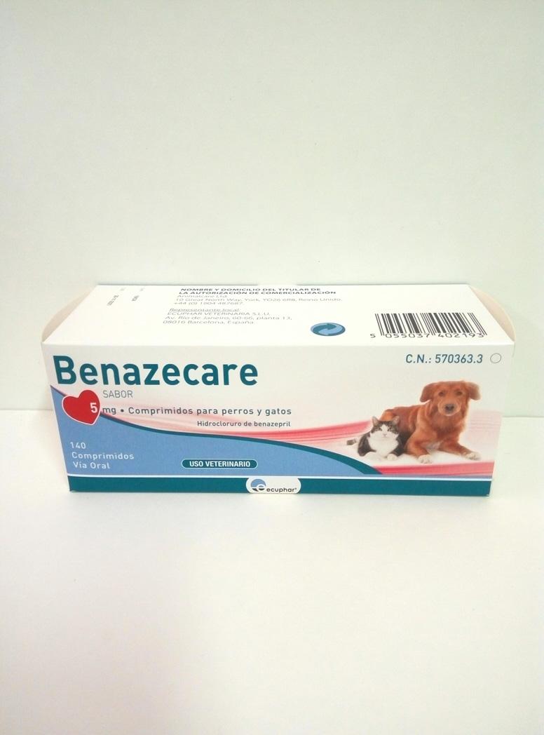 BENAZECARE 5mg - 140 Comprimidos