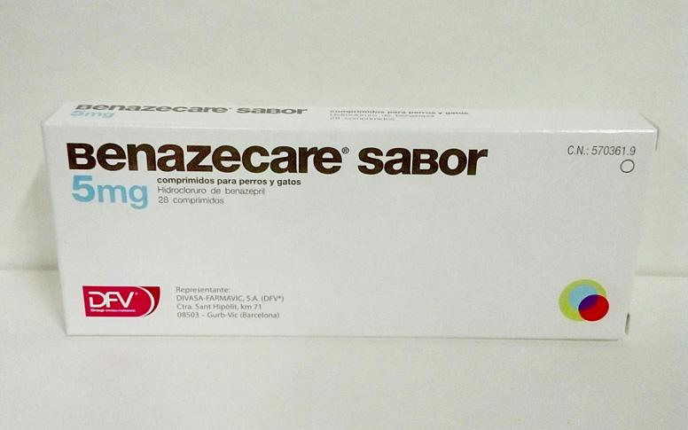 Benazecare Sabor 5mg (28 Comprimidos)
