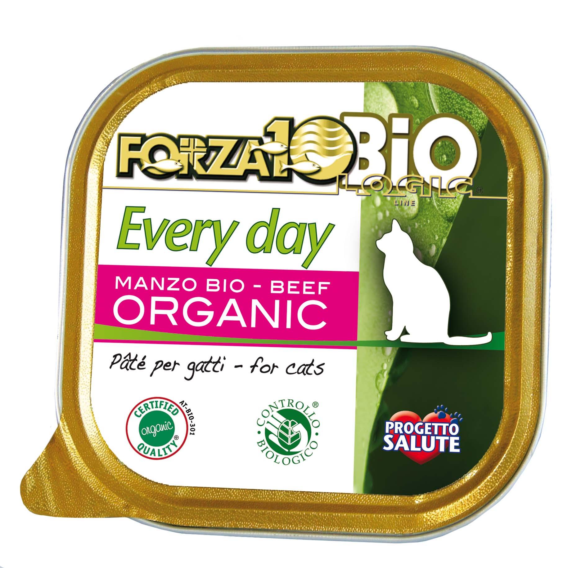 FORZA10 BIO - Every Day GATO Ternera 100g
