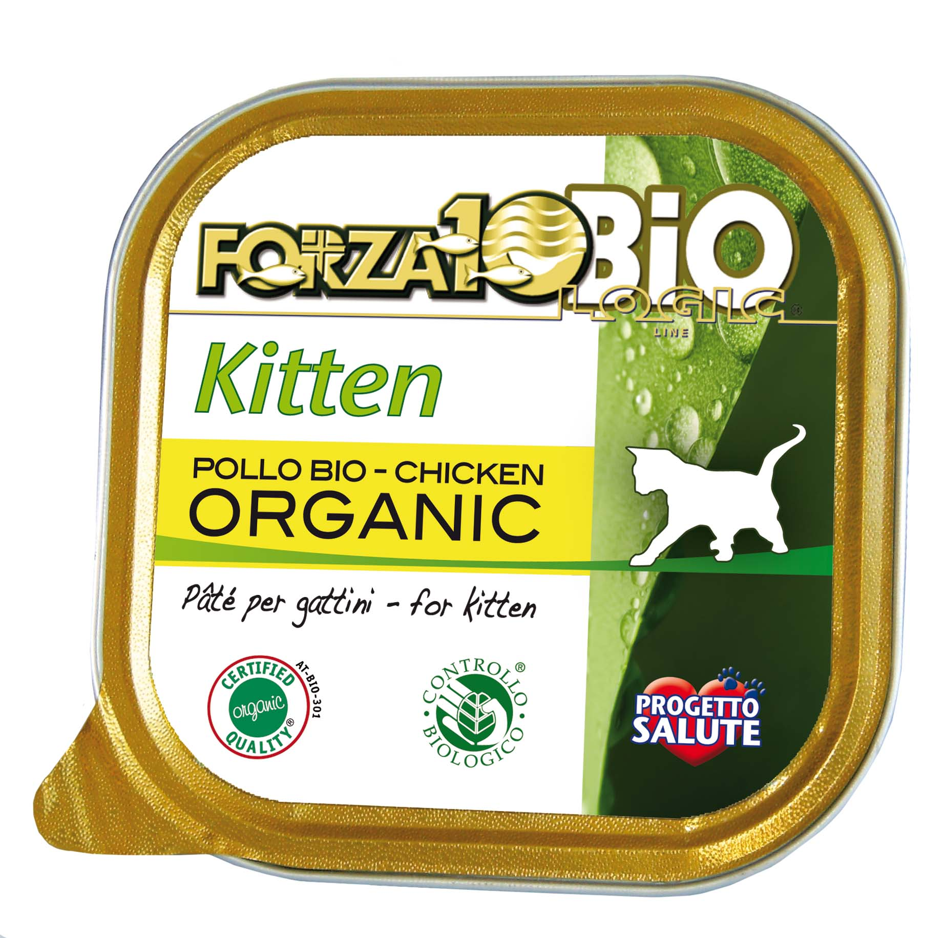 FORZA10 BIO - Every Day kitten GATO Pollo 100g