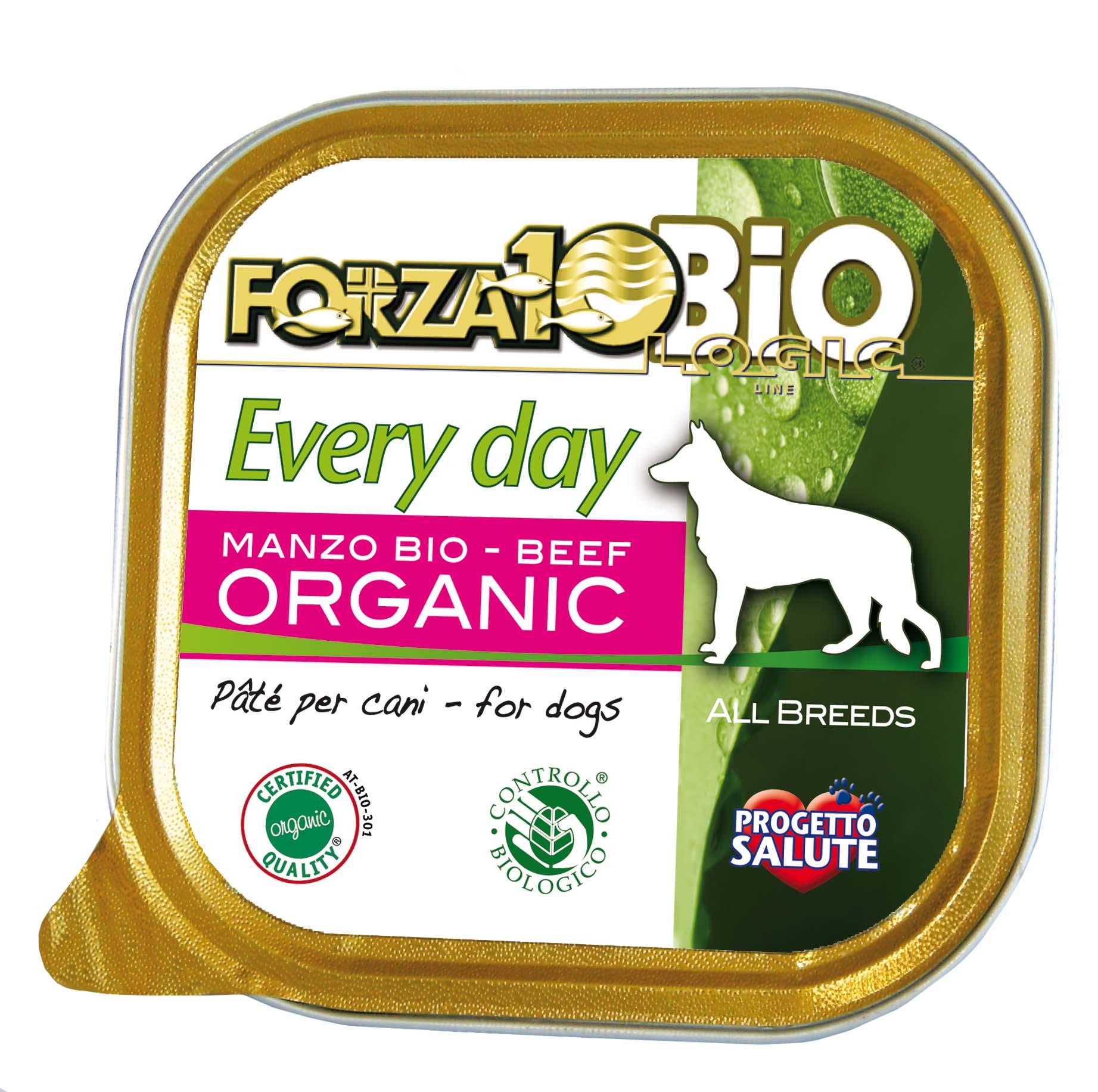 FORZA10 BIO - Every Day PERRO Ternera 100g