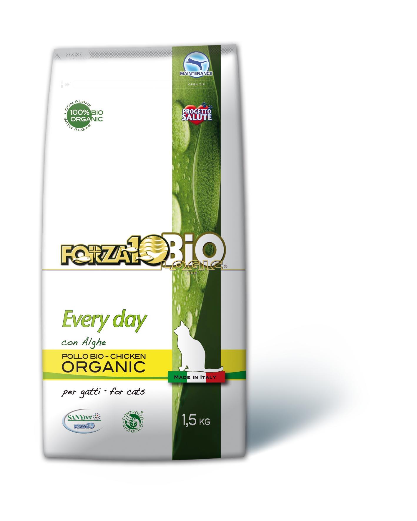 FORZA10 BIO - Pollo con Algas GATO 1.5kg