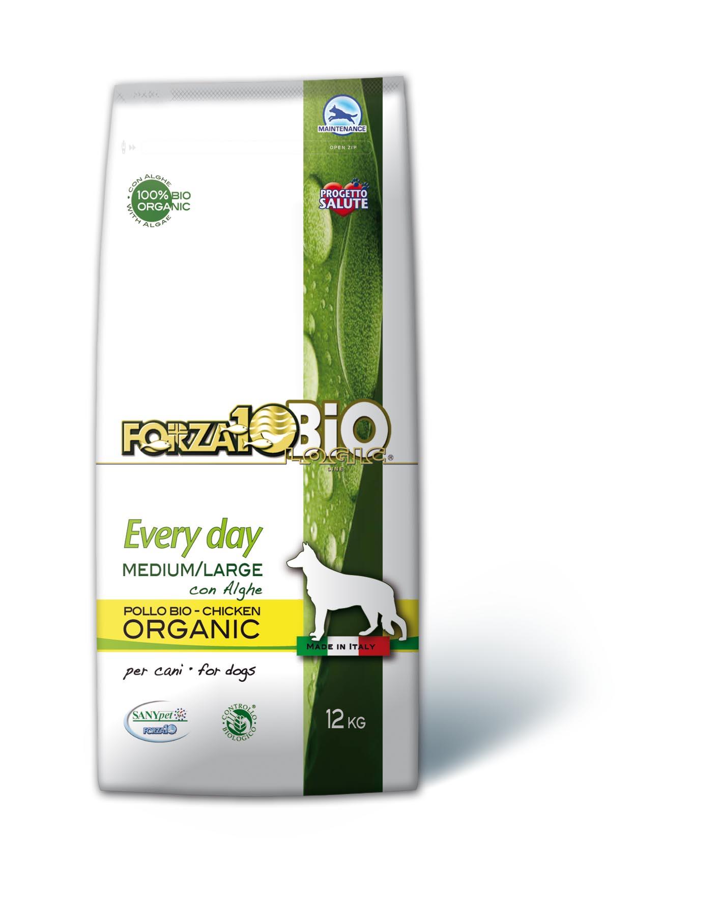 FORZA10 BIO - Pollo con Algas PERRO 12kg
