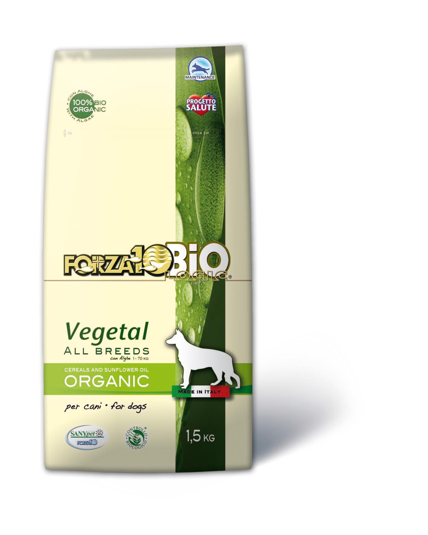 FORZA10 BIO - Vegetal con Algas PERRO 1.5kg
