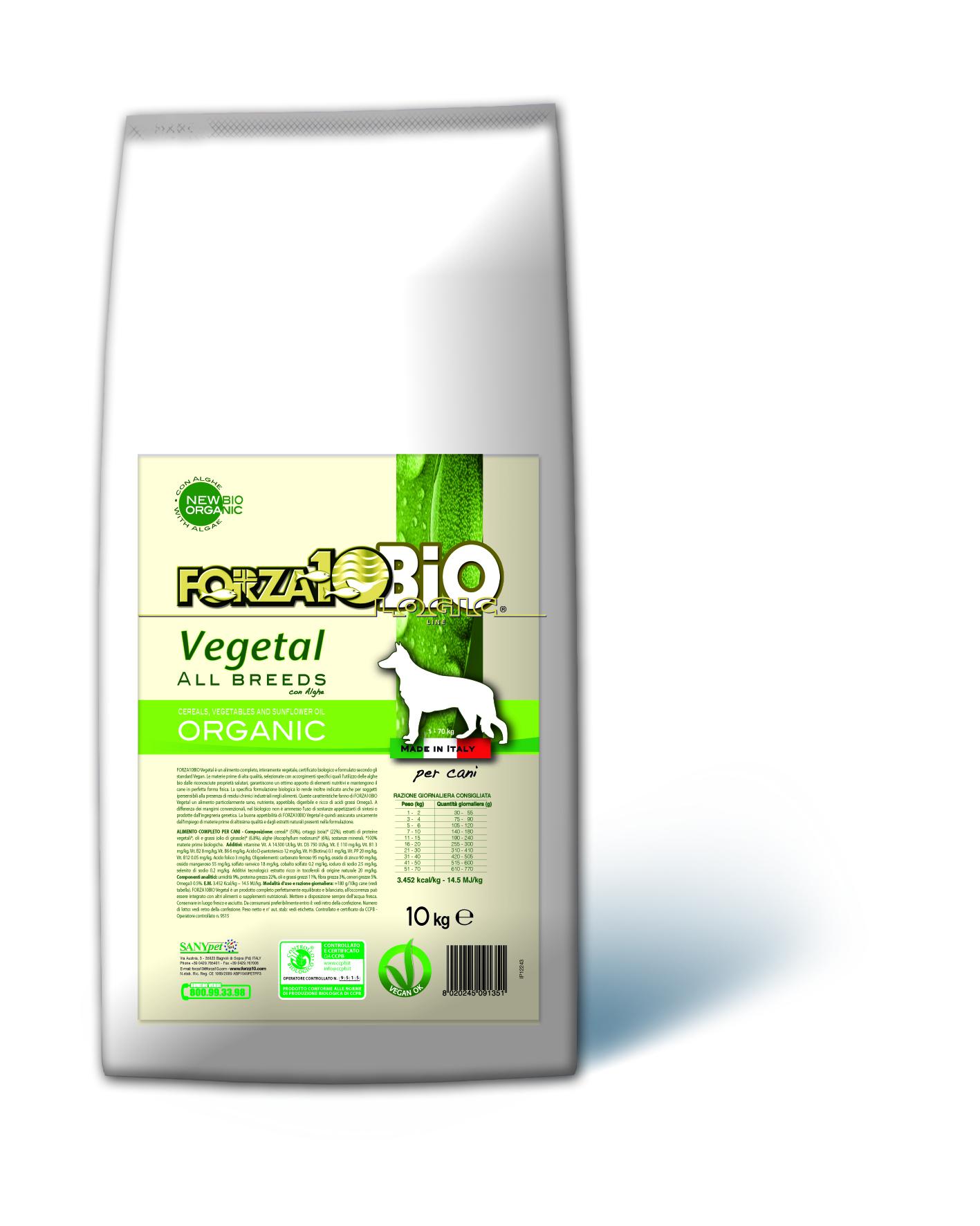 FORZA10 BIO - Vegetal con Algas PERRO 10kg