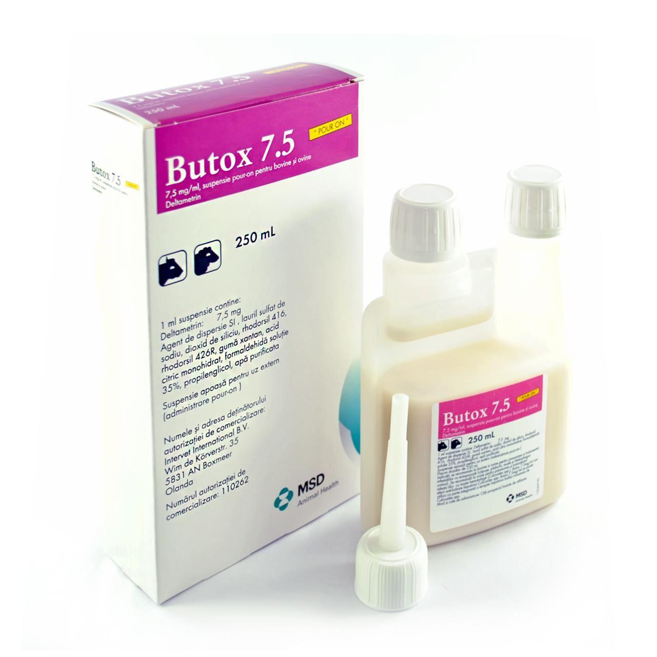 BUTOX POUR-ON 7.5% 250ml
