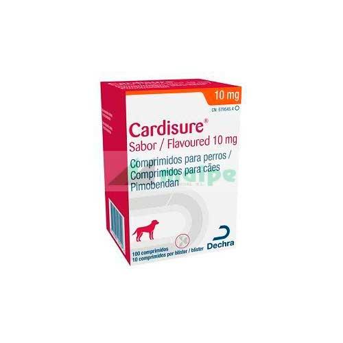 CARDISURE Sabor 10mg (100 Comprimidos)