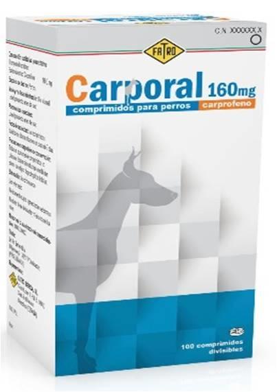 Carporal 160mg (100 Comprimidos)