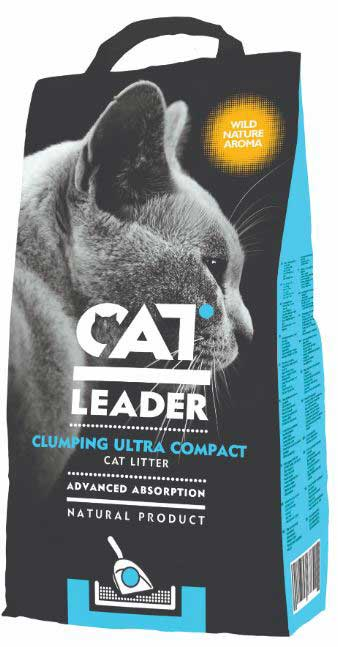 CAT LEADER CLUMPING NATURE AROME 5kg