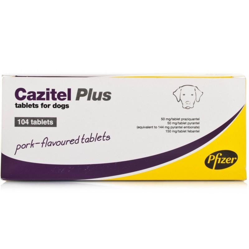 CAZITEL PLUS 104 Comprimidos