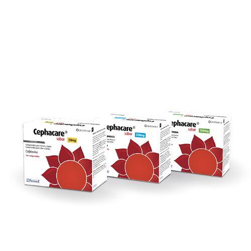 CEPHACARE 250mg - 100 Comprimidos