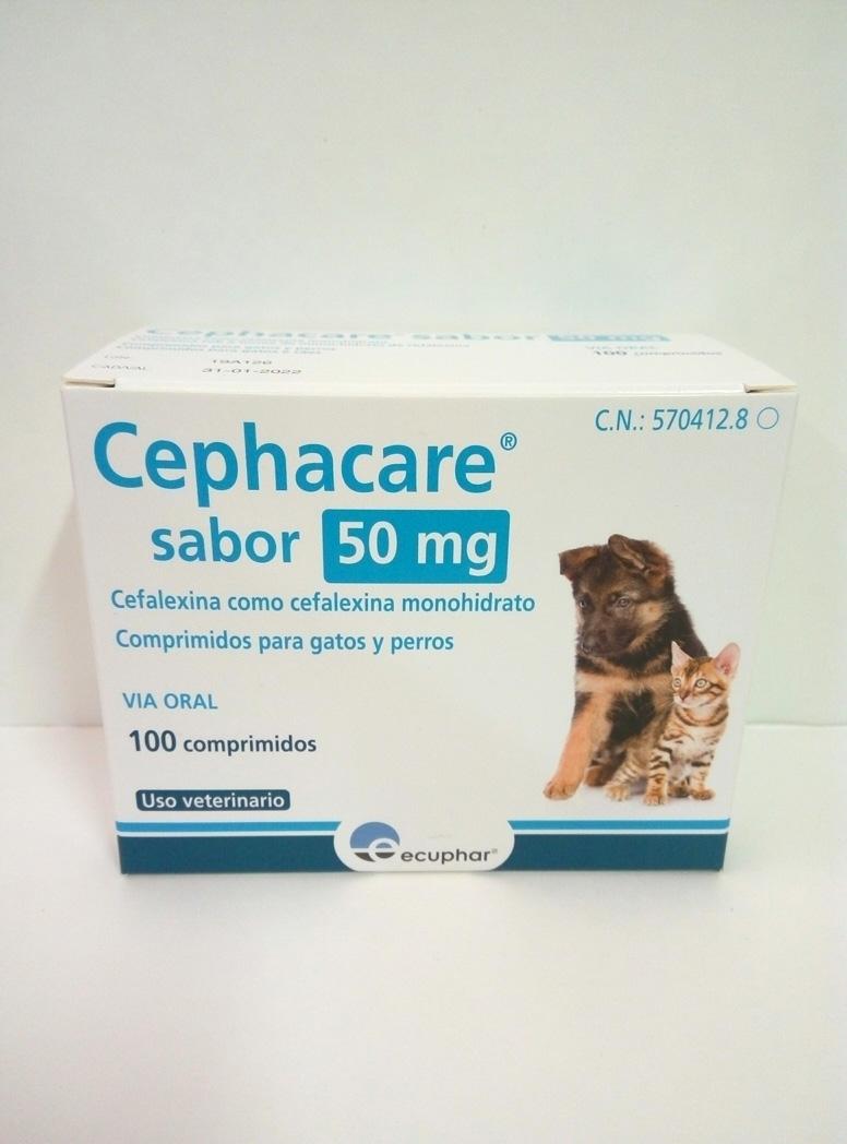 CEPHACARE SABOR 50mg - 100 Comprimidos