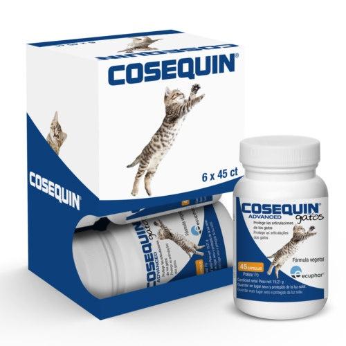 COSEQUIN ADVANCE GATOS 45 Cápsulas (PACK 6 Unidades)