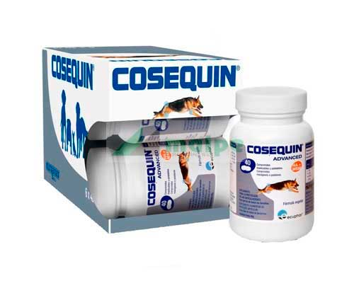 COSEQUIN ADVANCE PERRO 40 Comprimidos (PACK 6 Unidades)