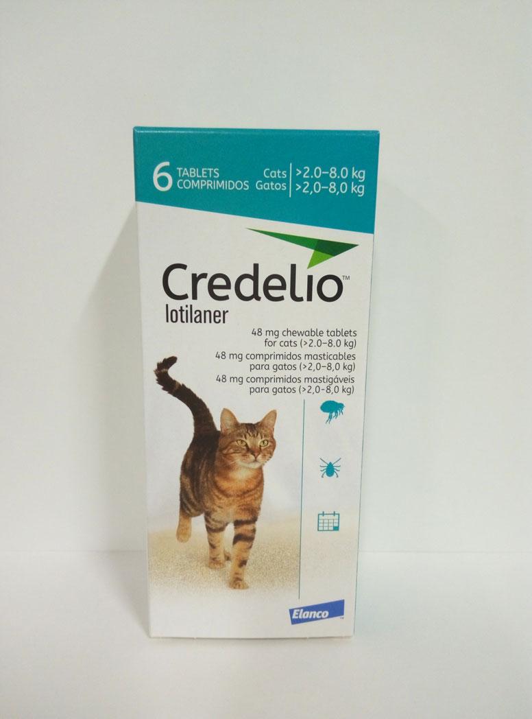 CREDELIO GATO 48mg 2-8kg (6 Comprimidos)