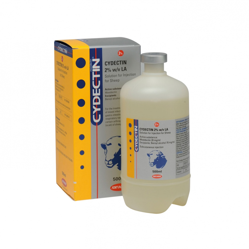 CYDECTIN 2% LA 500ml
