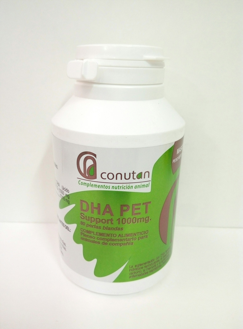 DHA PET SUPPORT 1000 (80 Perlas)