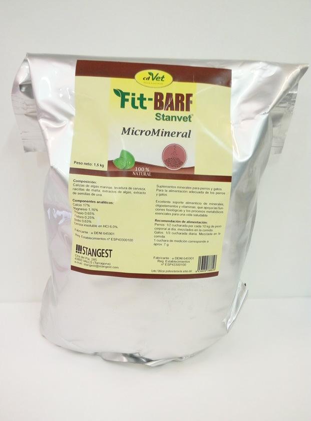 DIETA BARF MICROMINERAL 1.5kg