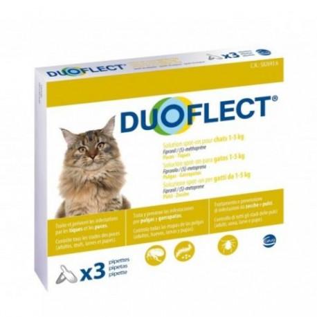 DUOFLECT CAT 1-5 kg 3 Pipetas