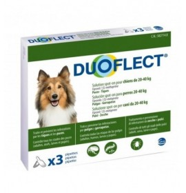 DUOFLECT DOG 20-40kg 3 Pipetas