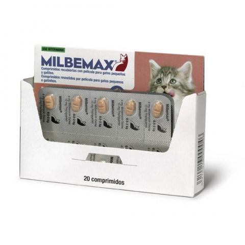 MILBEMAX Sabor GATITO 20 Comprimidos