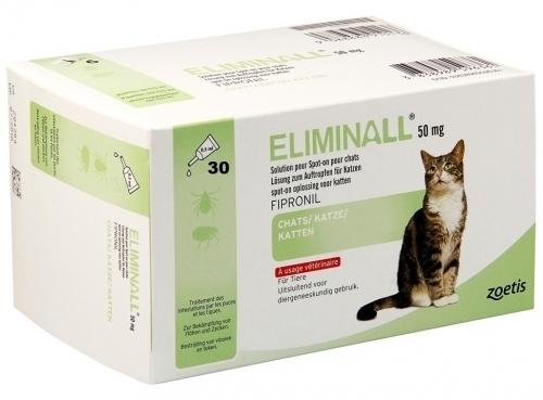 ELIMINALL GATOS 50mg 30 Pipetas