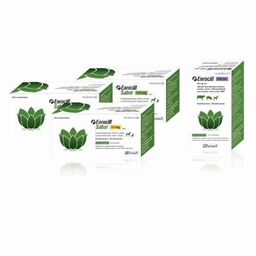 ENROCILL SABOR 150mg - 100 Comprimidos