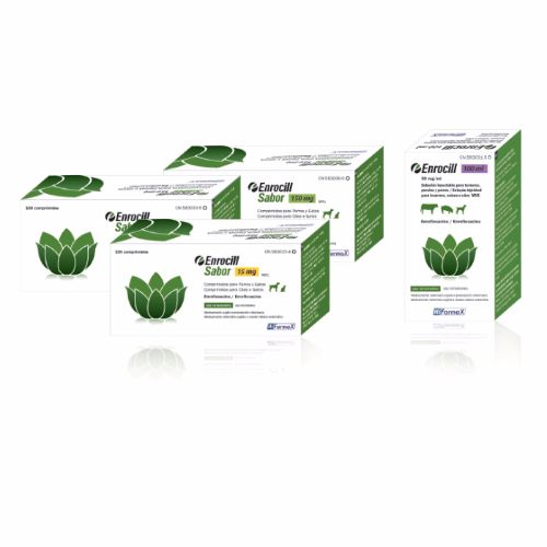 ENROCILL SABOR 50mg - 100 Comprimidos