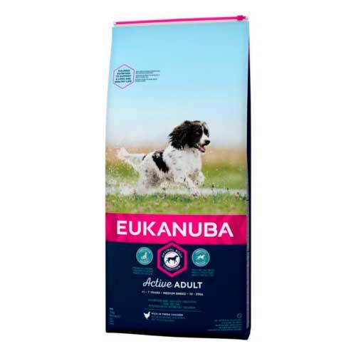 EUKANUBA PERRO ADULT MEDIUM MANTENIMIENTO 12+3 KG (PROMO DIC.)