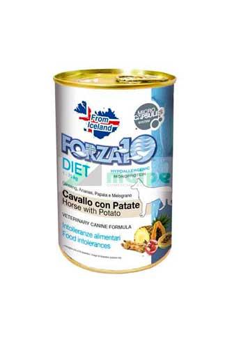 FORZA10 Lata DIET Caballo con Patata 400g