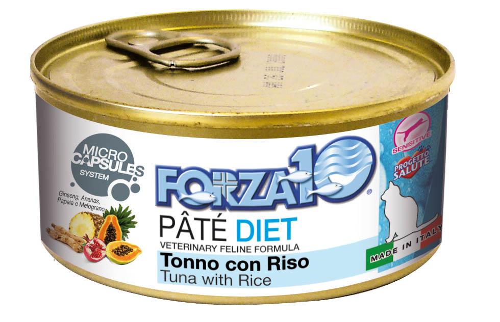 FORZA10 Lata DIET PERRO Atún con Arroz 170g