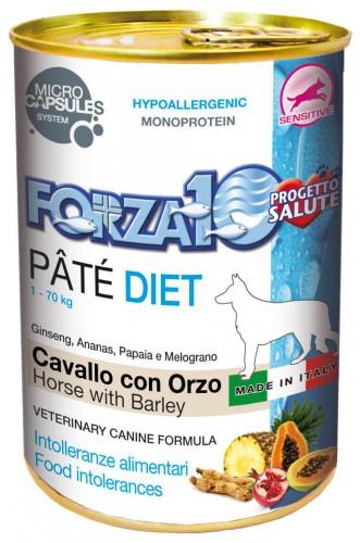 FORZA10 Lata DIET PERRO Caballo con Cebada 400g