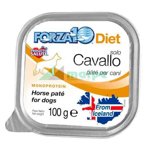 FORZA10 Lata solo DIET Caballo (Cavallo) 100g