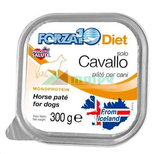 FORZA10 Lata solo DIET Caballo (Cavallo) 300g