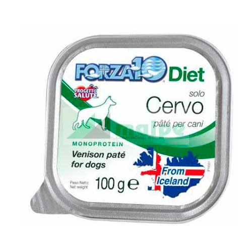 FORZA10 Lata solo DIET Ciervo (Cervo) 100g