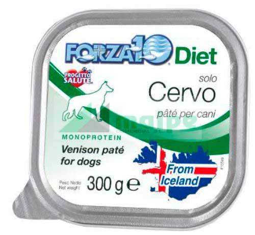 FORZA10 Lata solo DIET Ciervo (Cervo) 300g