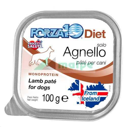 FORZA10 Lata solo DIET Cordero (Agnello) 100g
