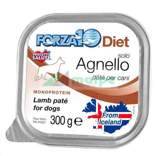 FORZA10 Lata solo DIET Cordero (Agnello) 300g