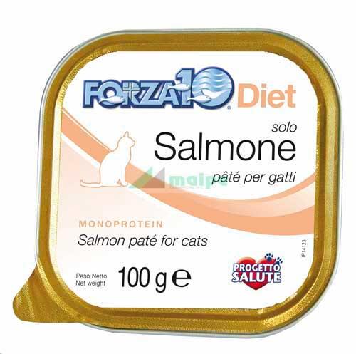 FORZA10 Lata solo DIET GATO Salmón (Salmone) 100g