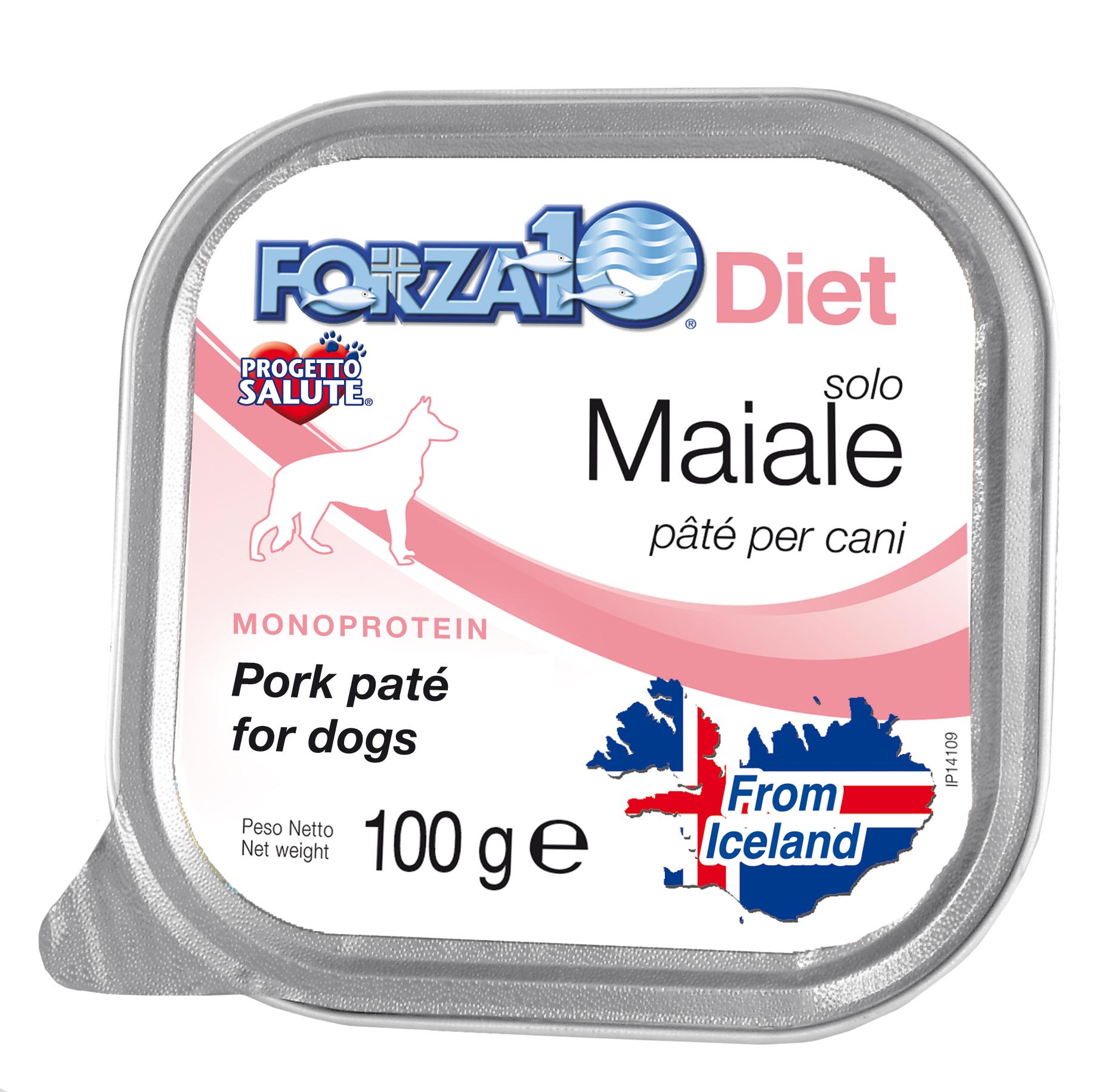 FORZA10 Lata solo DIET Maiale (Cerdo) 100g