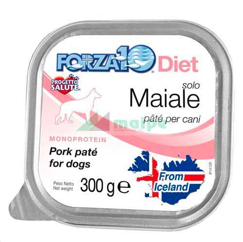 FORZA10 Lata solo DIET Maiale (Cerdo) 300g
