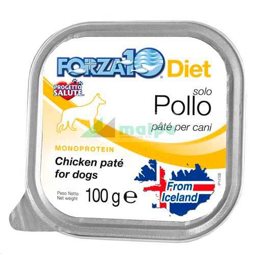 FORZA10 Lata solo DIET Pollo 100g