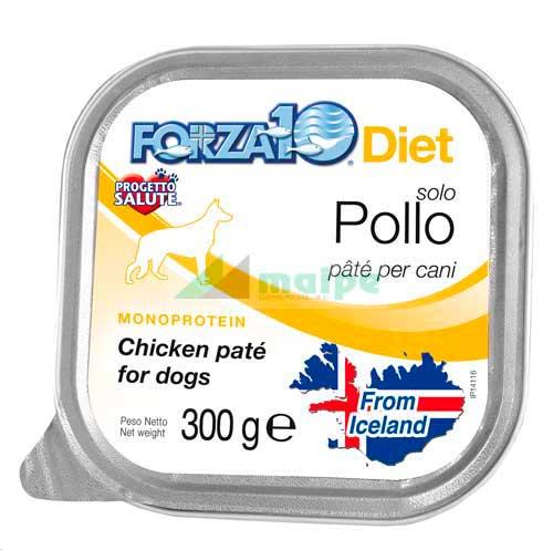 FORZA10 Lata solo DIET Pollo 300g
