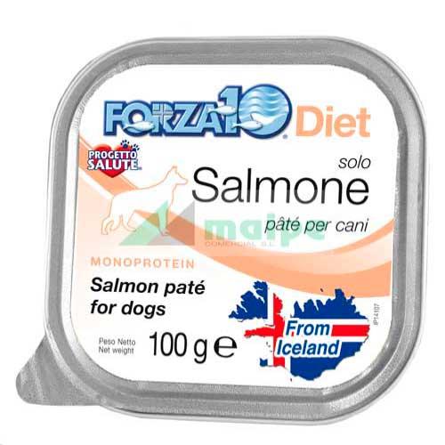 FORZA10 Lata solo DIET Salmón (Salmone) 100g