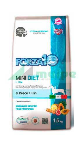 FORZA10 MINI DIET PERRO Pescado 1.5kg