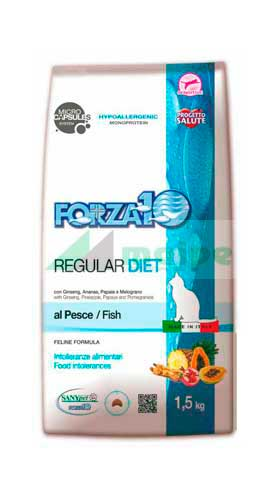 FORZA10 REGULAR DIET GATO Pescado 1.5kg