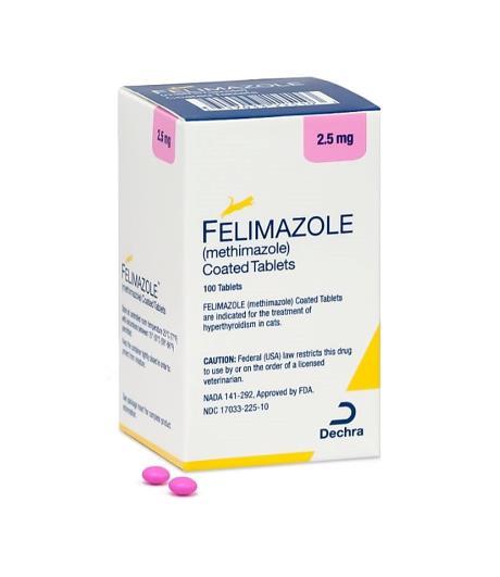 FELIMAZOLE 2.5mg (100 Comprimidos)