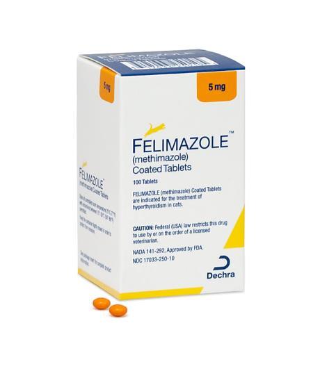 FELIMAZOLE 5mg (100 Comprimidos)