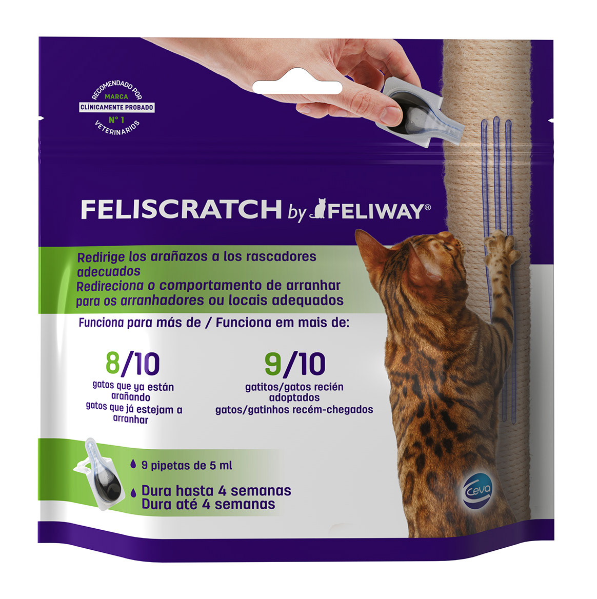 FELISCRATCH (9 Pipetas de 5ml)