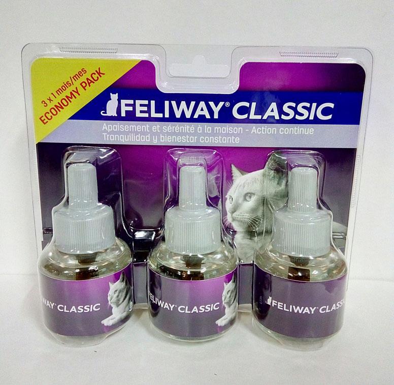 FELIWAY CLASSIC Recambio 3 x 48ml